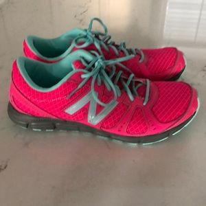 New Balance Pink Sneakers Size 8